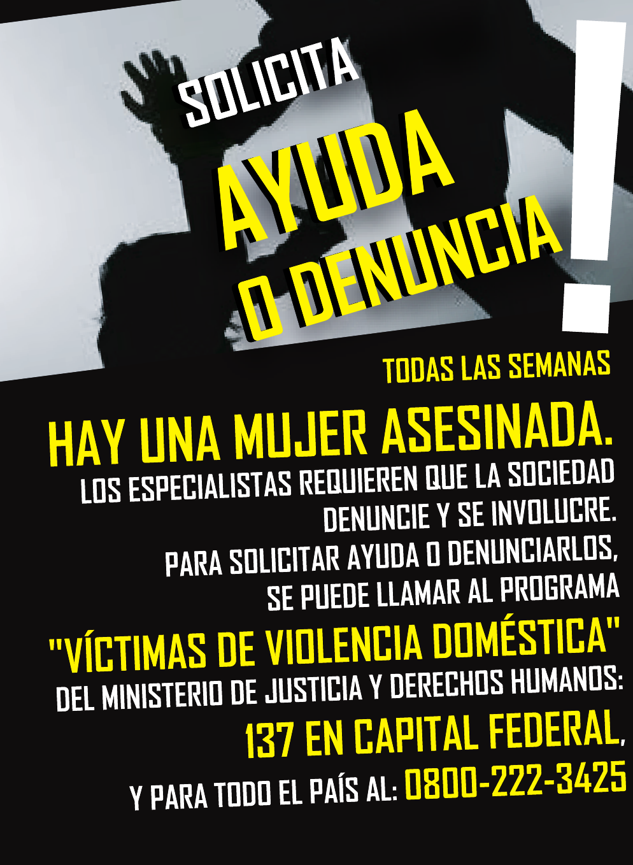 """VÍCTIMAS DE VIOLENCIA DOMÉSTICA"""